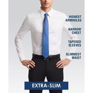 Calvin Klein Shirts - Calvin Klein X Men's Steel Extra-Slim Fit Non-Iron